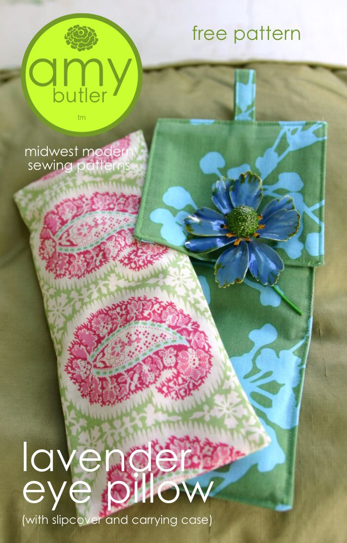 Eye Pillow Tutorial Gift Ideas Pinterest Sewing Sewing