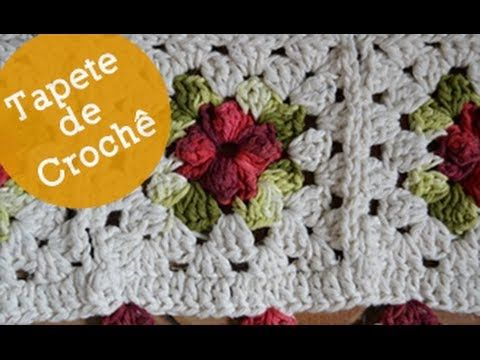 Trabalhos em barbante especial tapetes de barbante for Tapetes de crochet