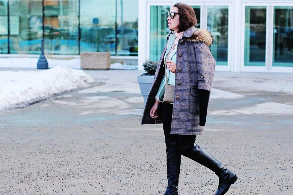 Style || Layered || And a luxury coat giveaway with FREED | Northern Style Exposure