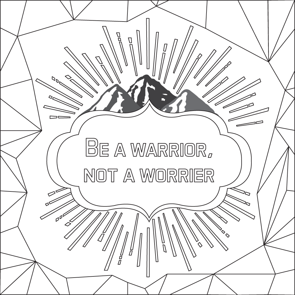 Pin On Quotes Coloring Pages [ 1000 x 1000 Pixel ]