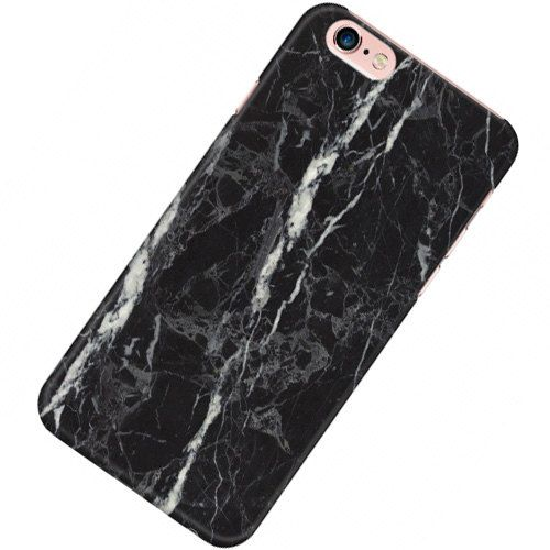 iphone 7 marble phone case black
