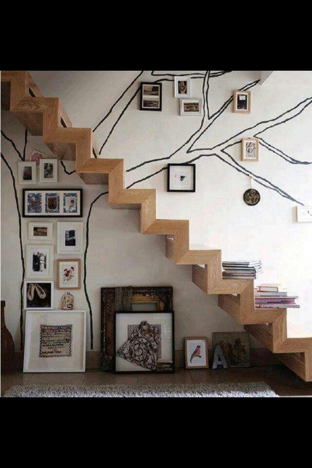 Home And Garden Diy Ideas Escaleras Bonitas Decoraciones De Casa Arboles De Interior
