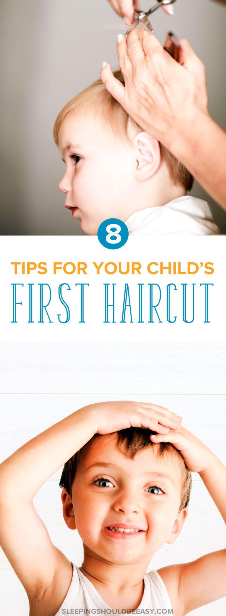 Surviving your childus first haircut at a salon child haircut