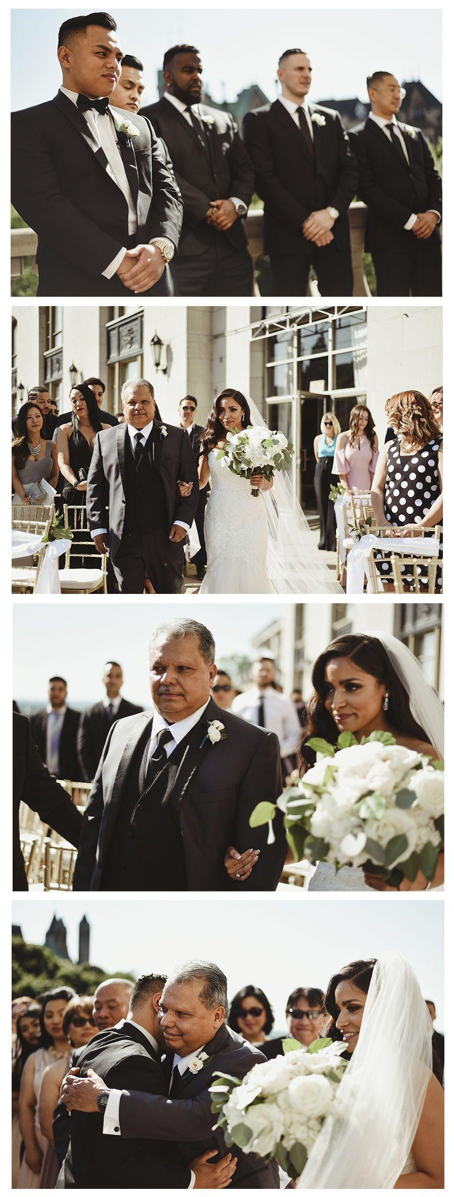 Bride walking down the aisle wedding photo inspiration