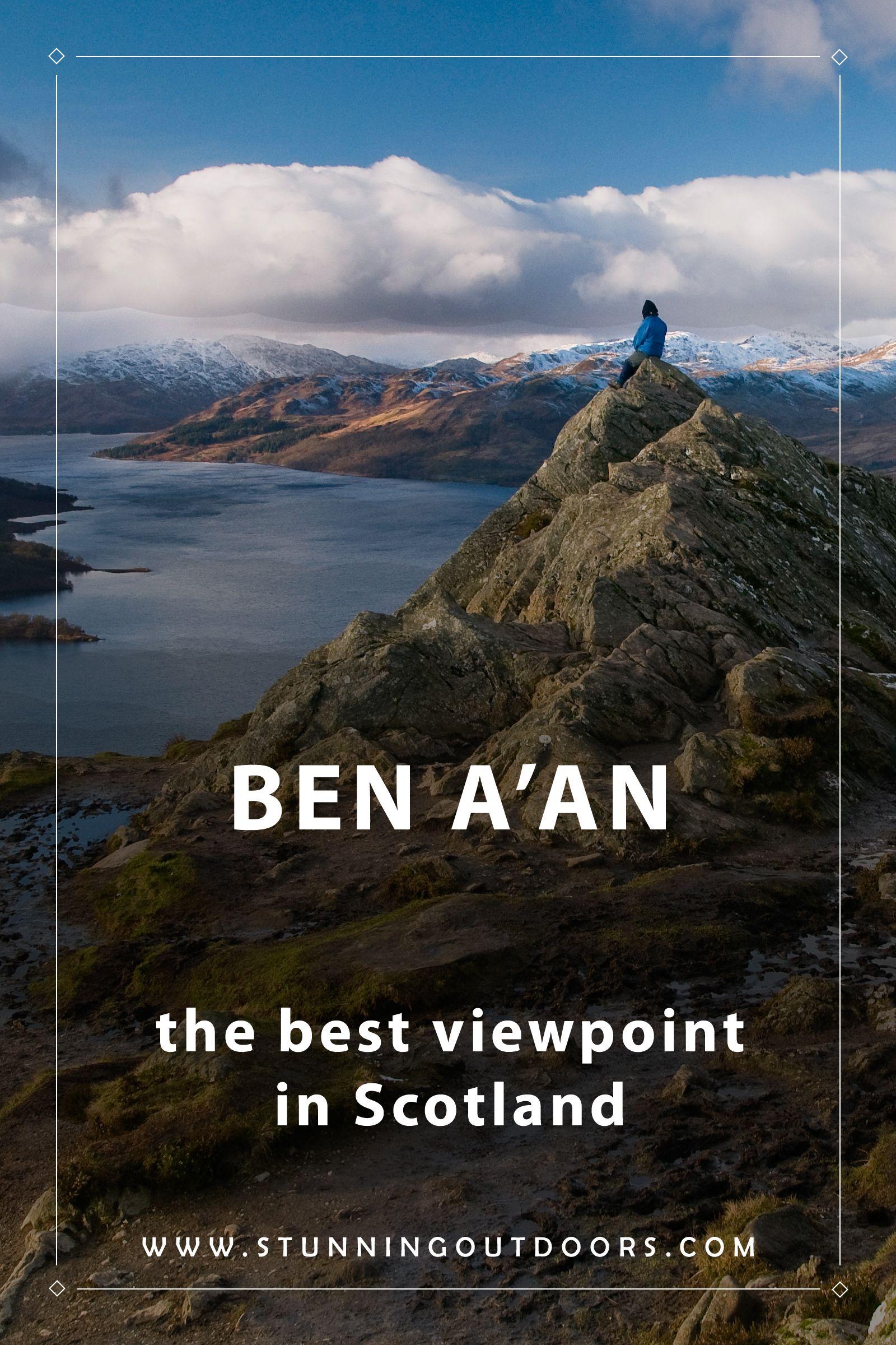 BEN A'AN - the best viewpoint in Scotland