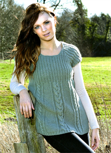 Womens Knitting Patterns Fearne Rib & Cable Tunic Pattern