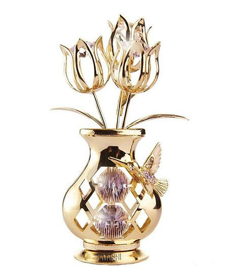 Dimple Tulips Hummingbird Vase Tabletop Dcor Zulily Misc