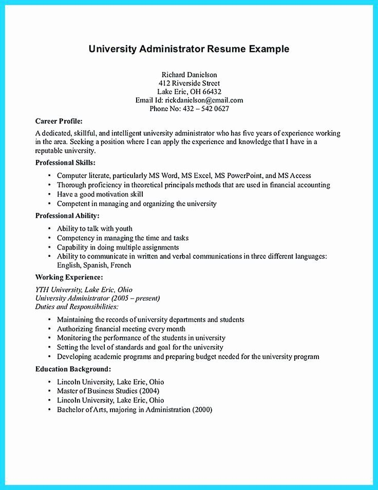 Luxury business objects resume sample in 2020 resume
