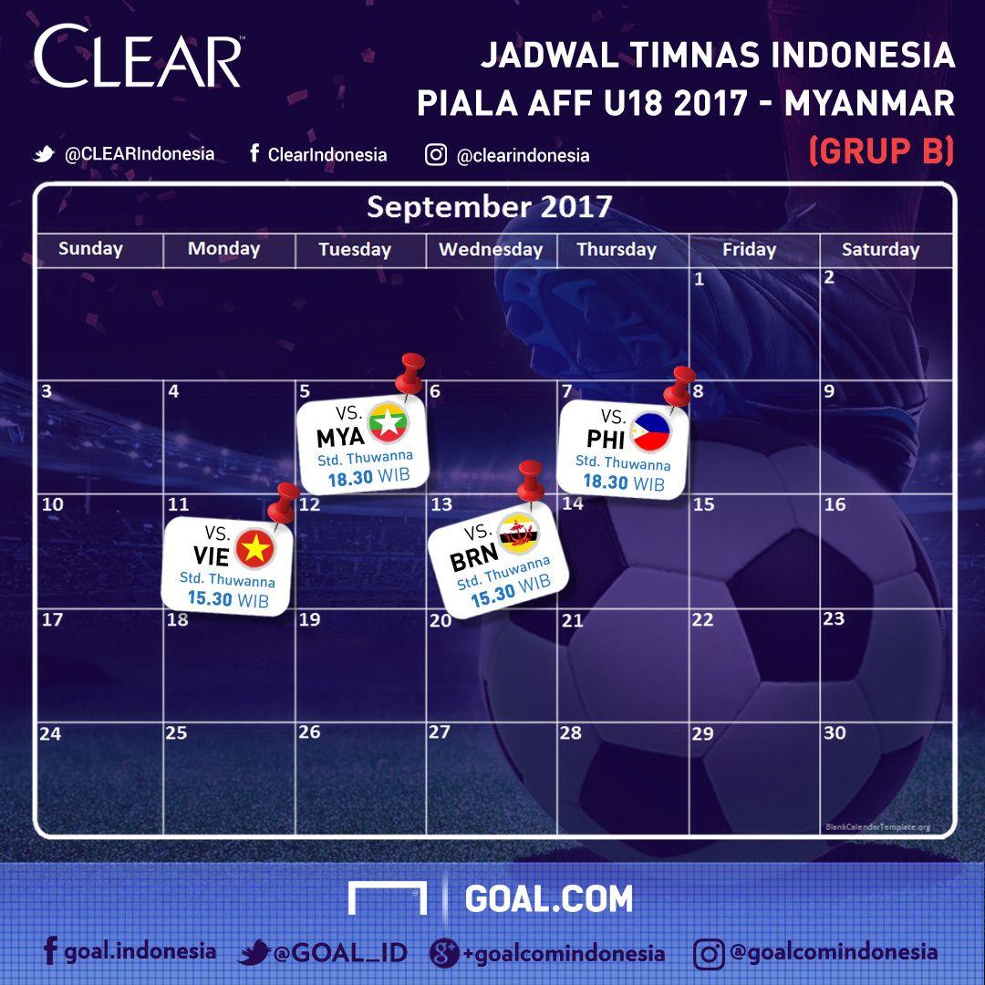 Jadwal Tv Siaran Langsung Hasil Klasemen Timnas Indonesia Di Piala Aff U
