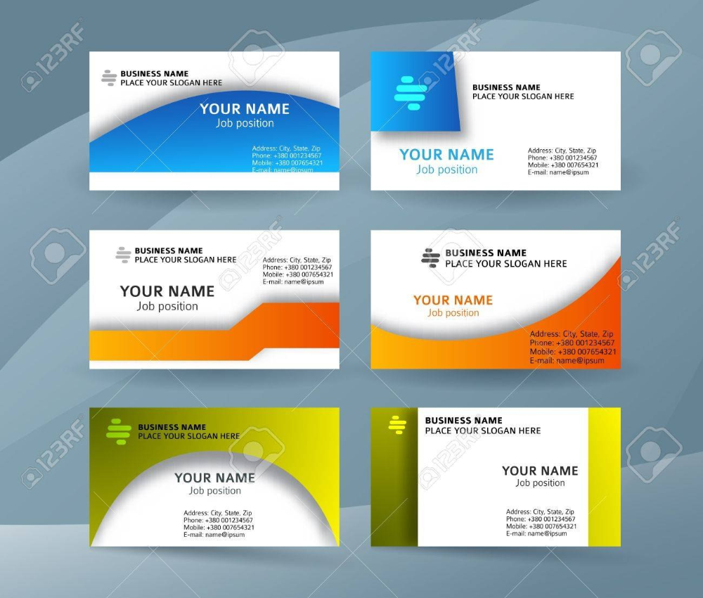 Abstract Professional And Designer Business Card Template Or Throughout Professional Name C Visiting Card Templates Business Card Template Business Card Design