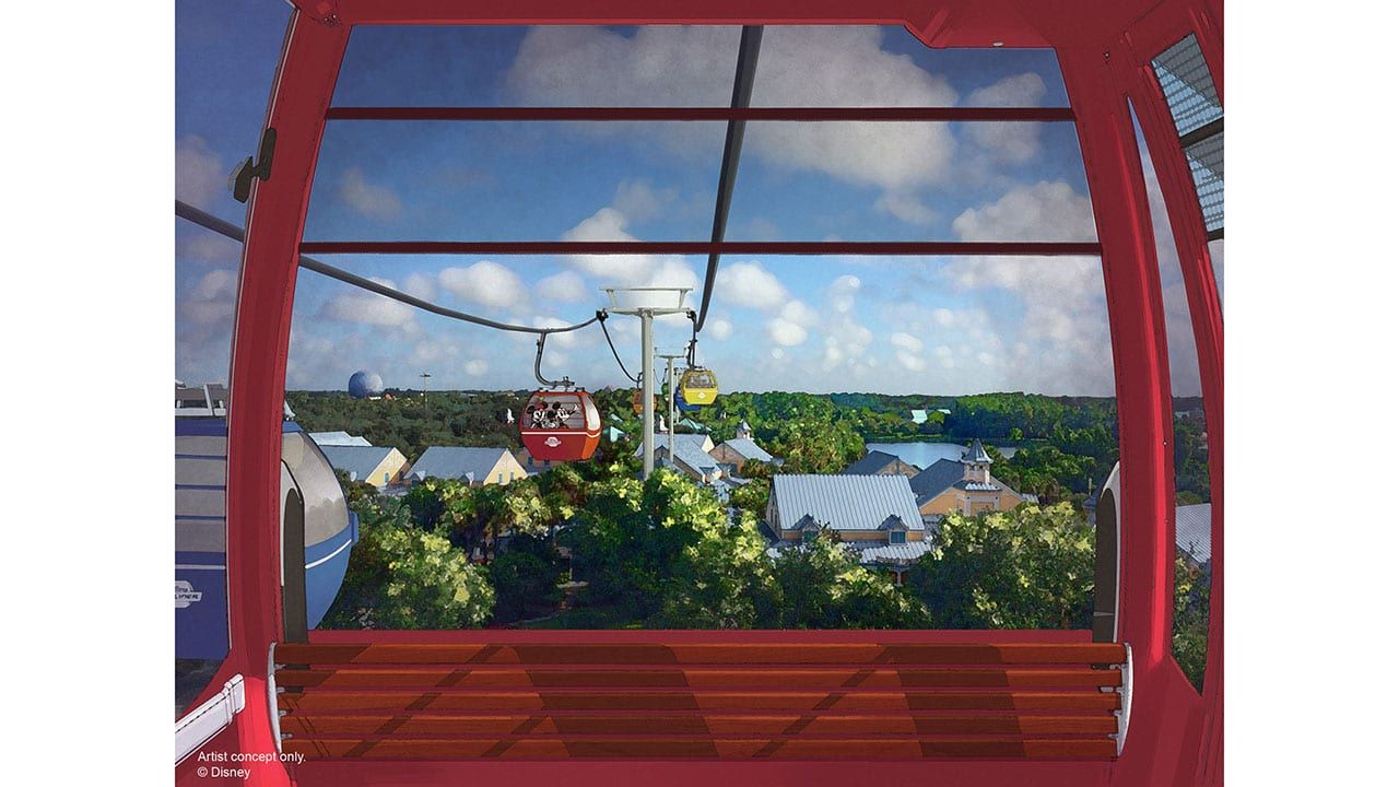 New disney skyliner details air conditioning and