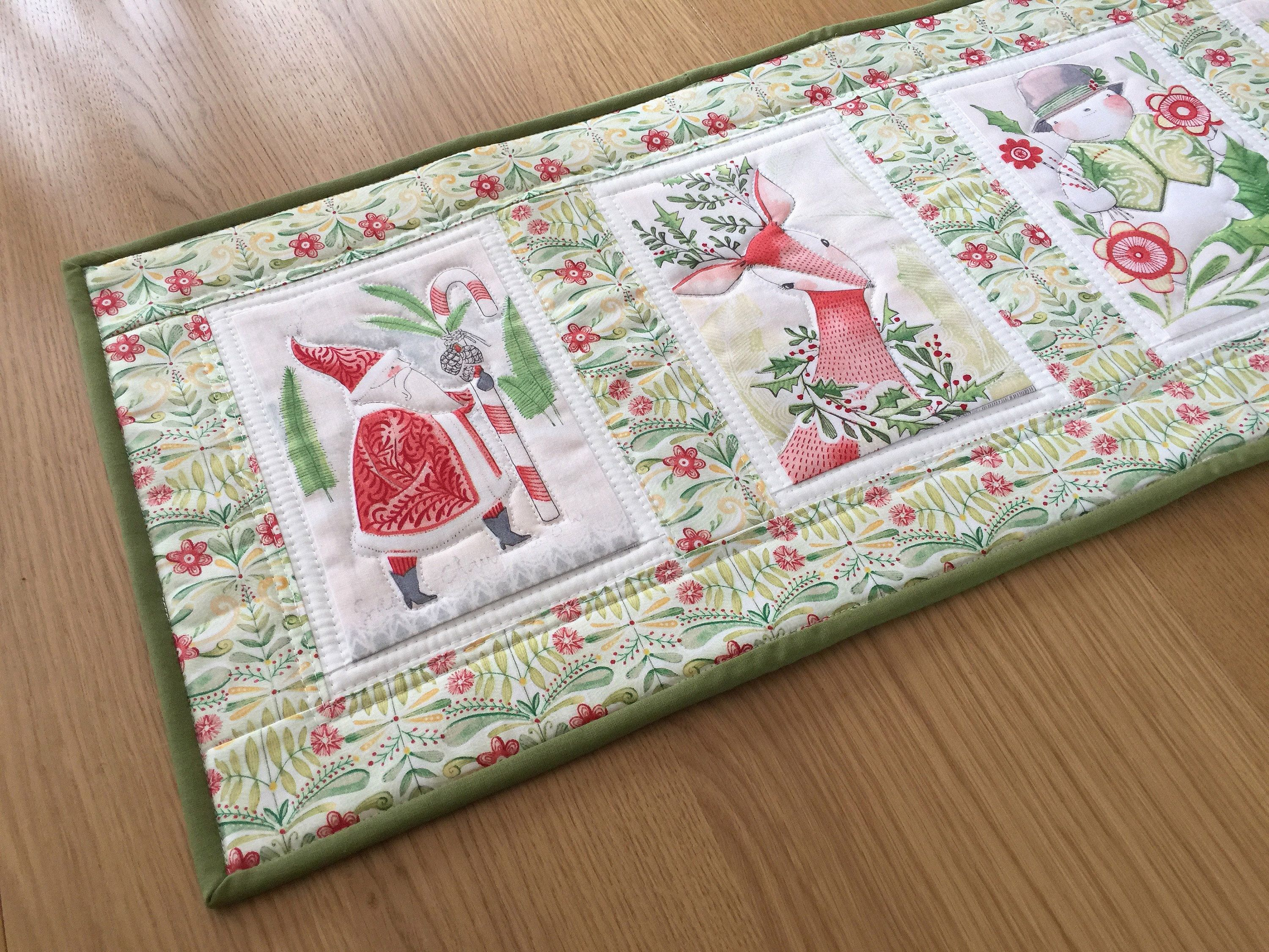 Brilliant Quilted Table Runner Christmas Table Runner Christmas Interior Design Ideas Gentotryabchikinfo