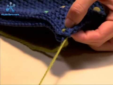 In this video you will learn how to use a couple  of different methods to join two pieces of squares, swatches, or anything you knit that you want to come together to form a finish piece. Its usually used when you want to make a seam to join the front and back of a sweater, or panels of a hat.    This video will first show you how to 'weaving me...