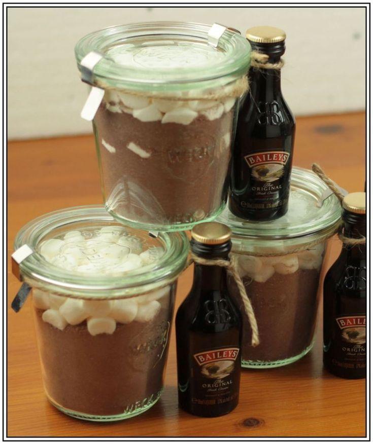 Heiße Schokolade Mix (Hot Chocolate Mix) – Geschenke aus dem Glas 8… Crash, Boom, Bang… #fooddiy