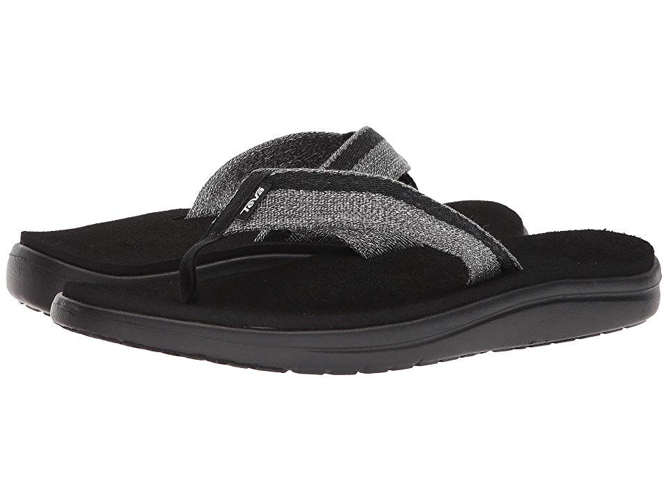 59f5e1f30 Teva Voya Flip (Zook Black) Men s Sandals. Make a statement of style ...