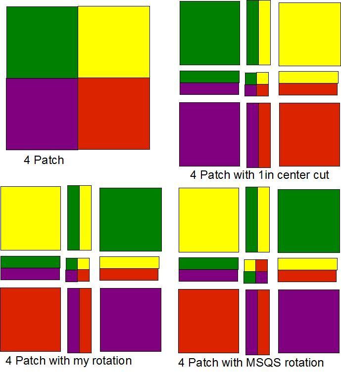 disappearing 4 patch from the Quilt Board. Great for showing off ... : 4 patch quilt patterns free - Adamdwight.com