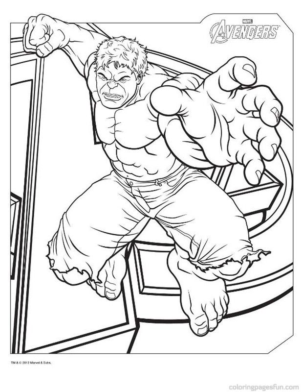 Avengers Hulk Coloring Pages Avengers Coloring Pages Avengers Coloring Superhero Coloring Pages