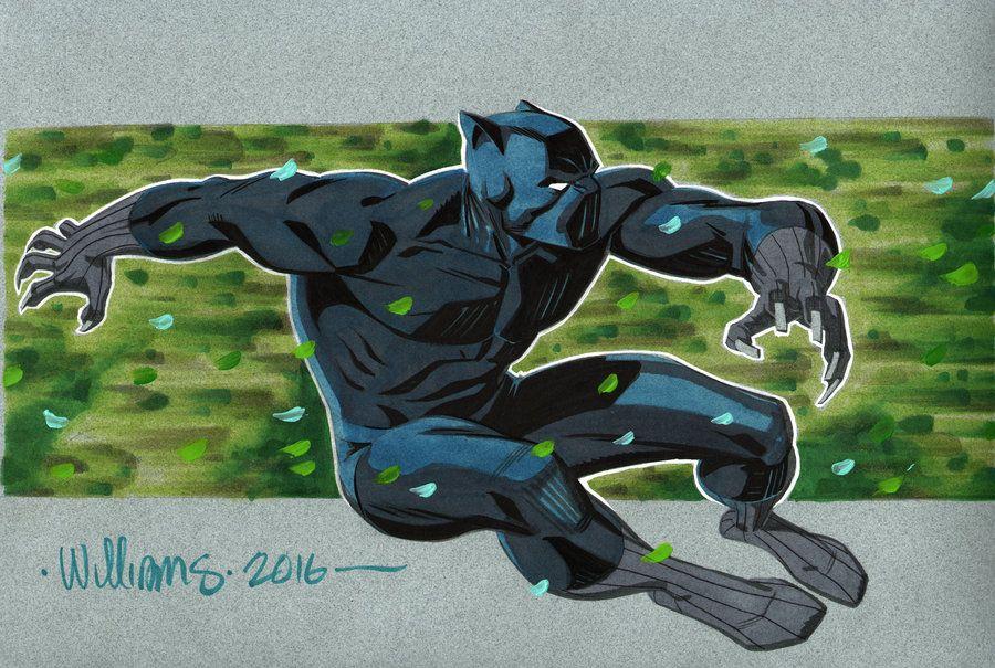 Black Panther for Shelton by BroHawk.deviantart.com on @DeviantArt