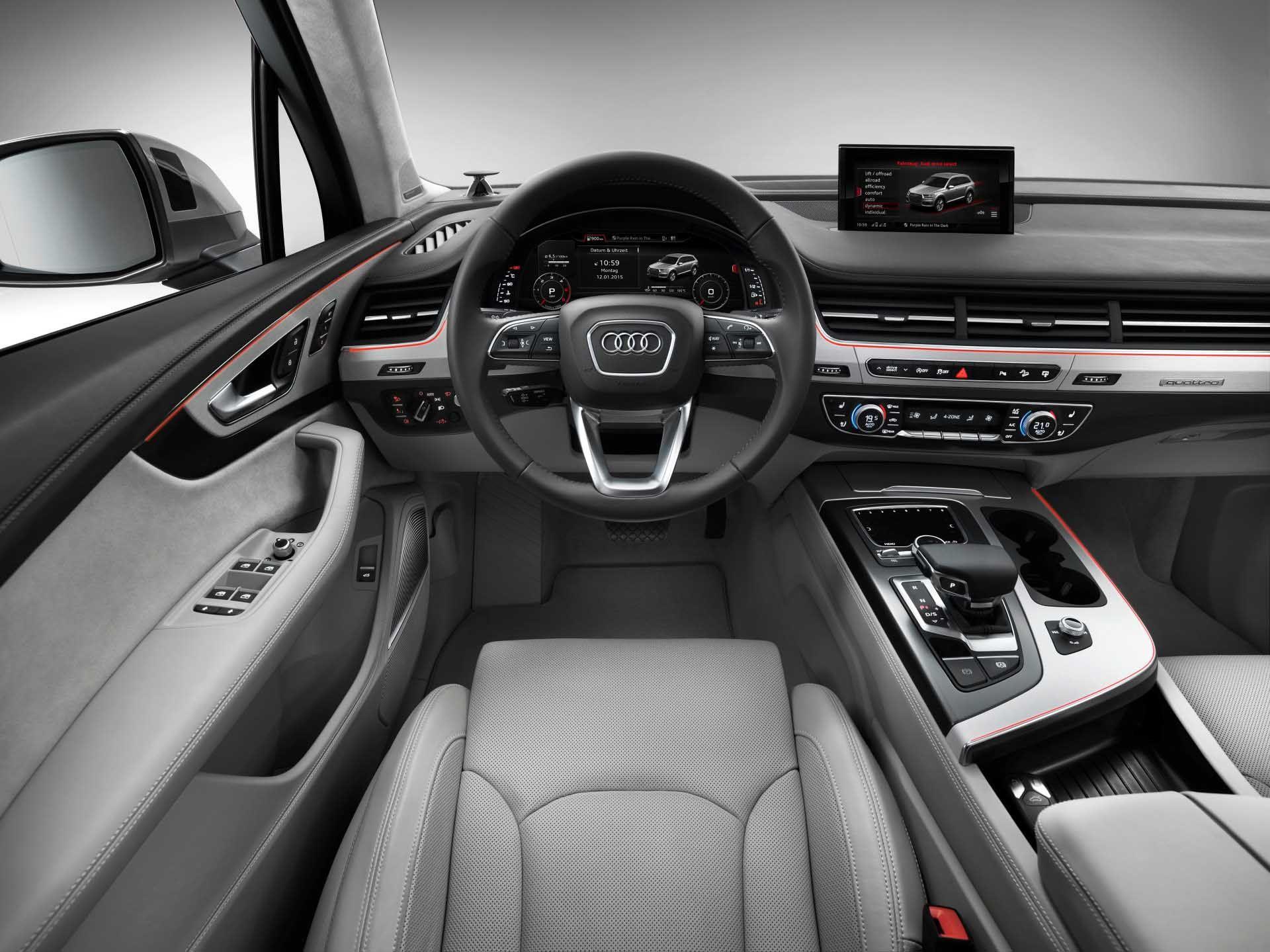10 nice audi q7 interior pictures cars pinterest audi q7