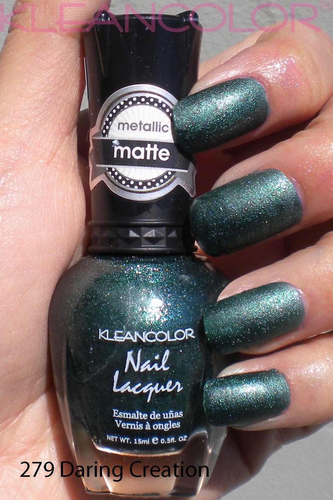 279 Daring Creation #mattepolish #matte #polish | Matte Nail Lacquer ...