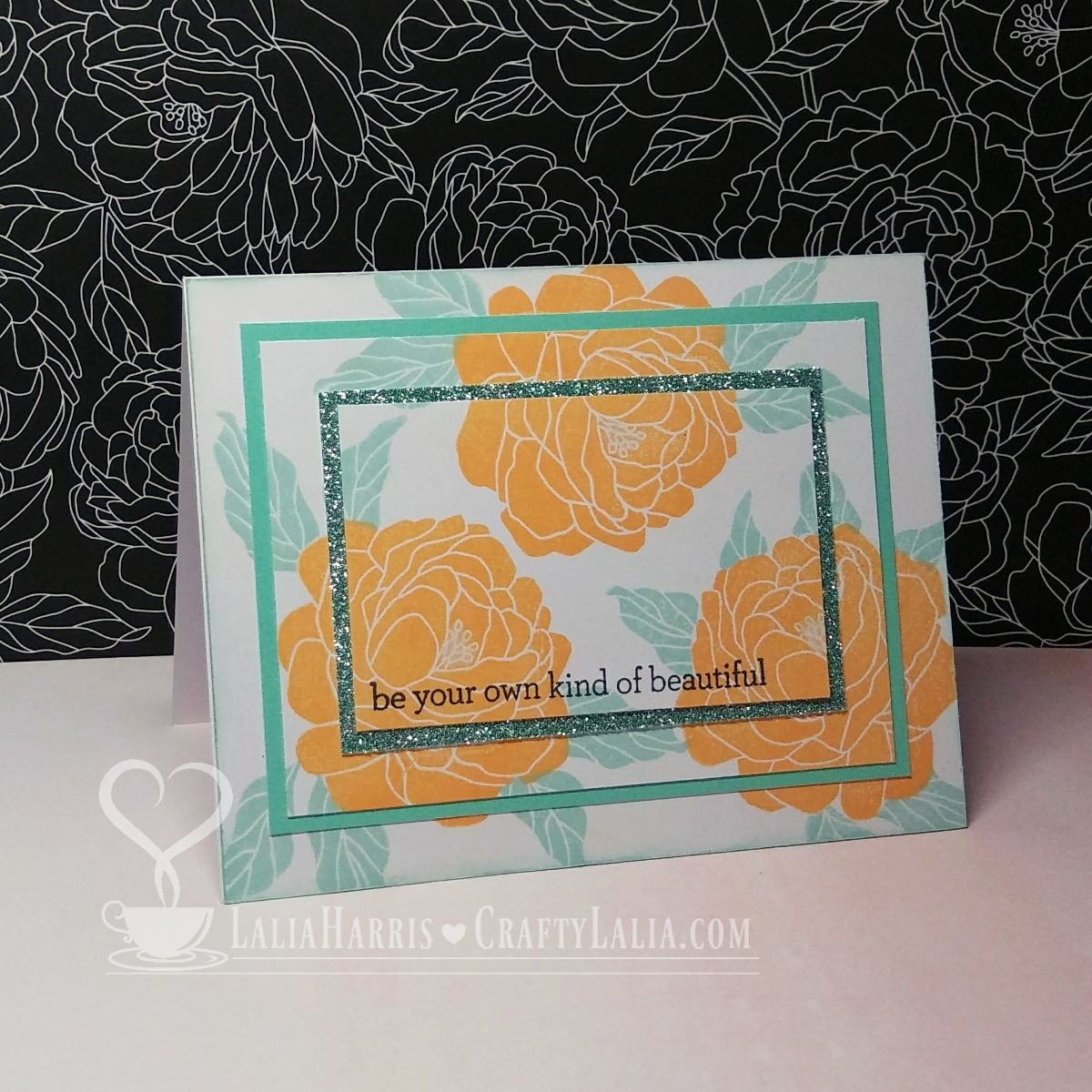 A Triple Time Stamping Tutorial using CTMH Live Beautifully May 2017 National Scrapbooking Day stamp set