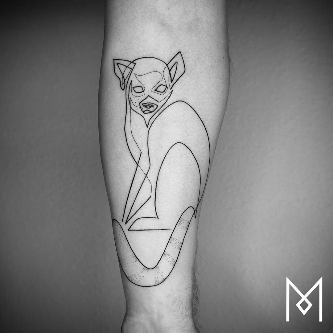 "Mo Ganji on Instagram: ""#minimaltattoo #lineworktattoo #oneline #linearttattoo #abstracttattoo #onelinetattoo #graphictattoo #singleline #blacktattoo…"""