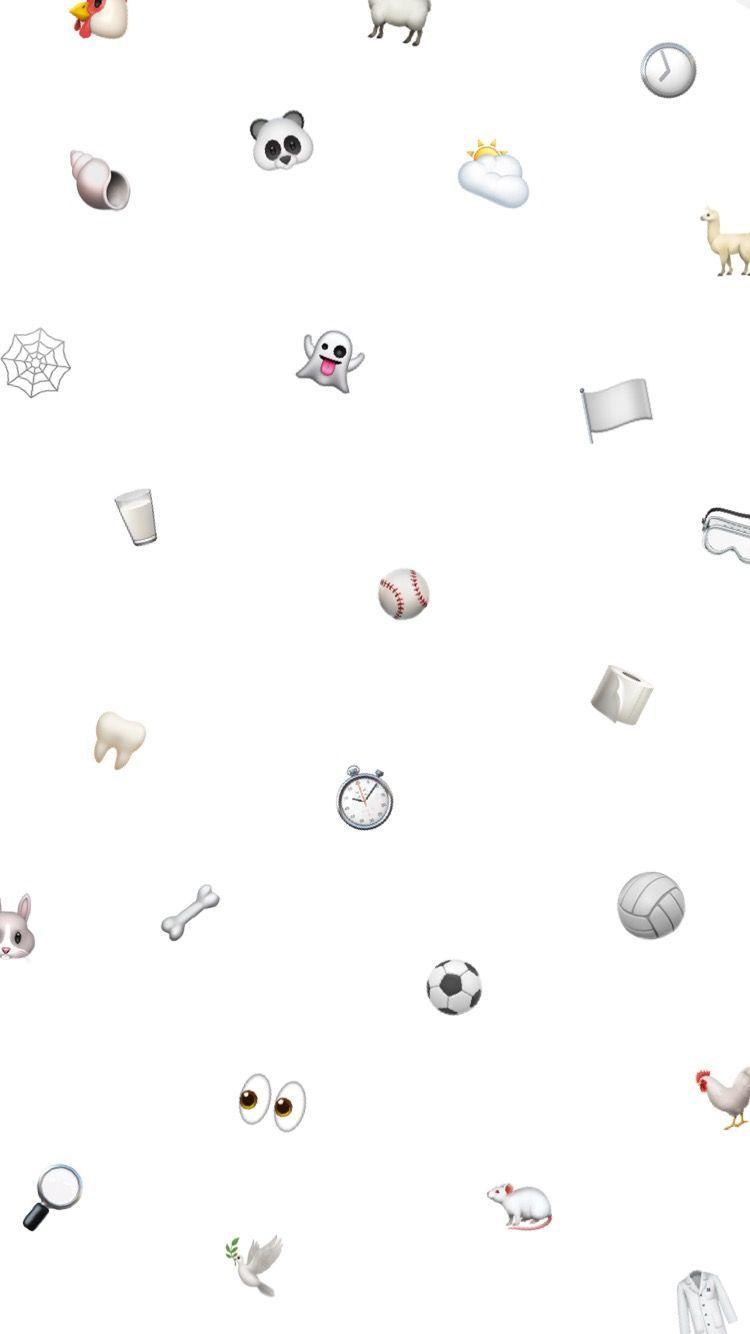 Weiss Tapete Fur Iphone Emoji Emoji Wallpaper Iphone White Wallpaper For Iphone Emoji Wallpaper