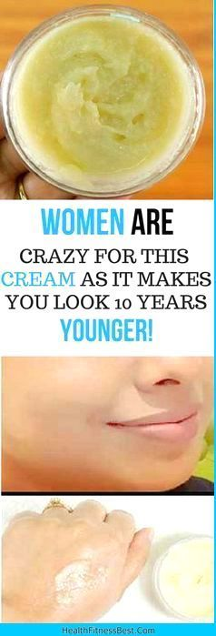 WOMEN ARE GOING CRAZY FOR THIS CREAM AS IT MAKES YOU LOOK 10 YEARS YOUNGER IN JUST 4 DAYS - #beauty...