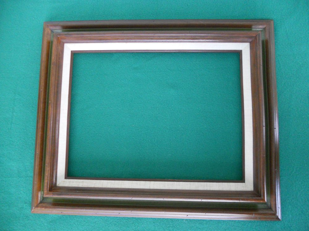 Vintage Chappel Wooden Picture Frame Fits 12 X 16 Made In Mexico No Glass Wooden Picture Frames Picture Frames Picture Frames For Sale