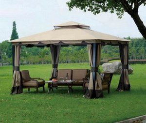 Replacement Canopy Set For Lots Monterey Gazebo By Sunjoy 169 99 Only No Other Parts Included