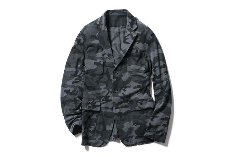 SOPHNET. 2013 Spring/Summer Camouflage Seed Stitch Jacket