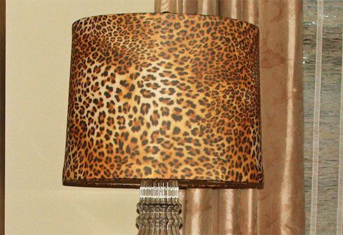 Golden leopard lamp shade cover animal print pinterest ranges golden leopard lamp shade cover aloadofball Images