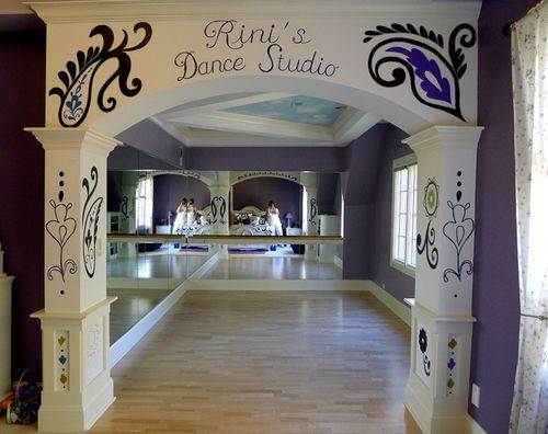 Dance Studio Room Divider