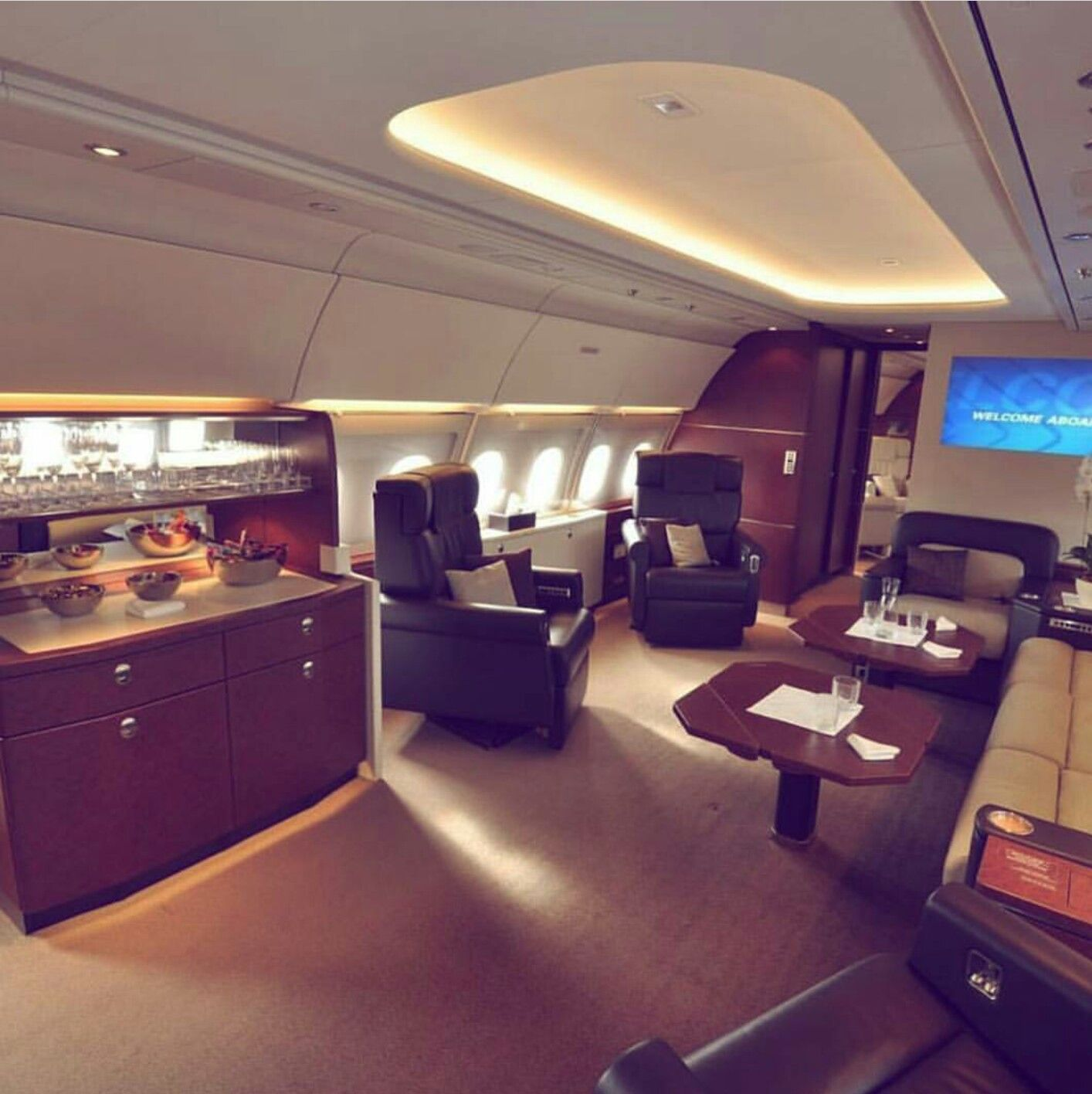 Interior Of My Private Jet With Images Luxury Private Jets