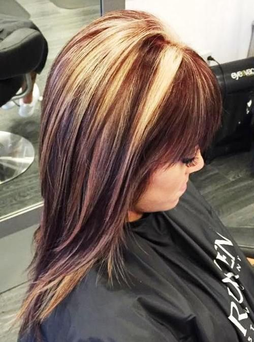 20 best hair color ideas in the world of chunky highlights 20 best hair color ideas in the world of chunky highlights pmusecretfo Image collections