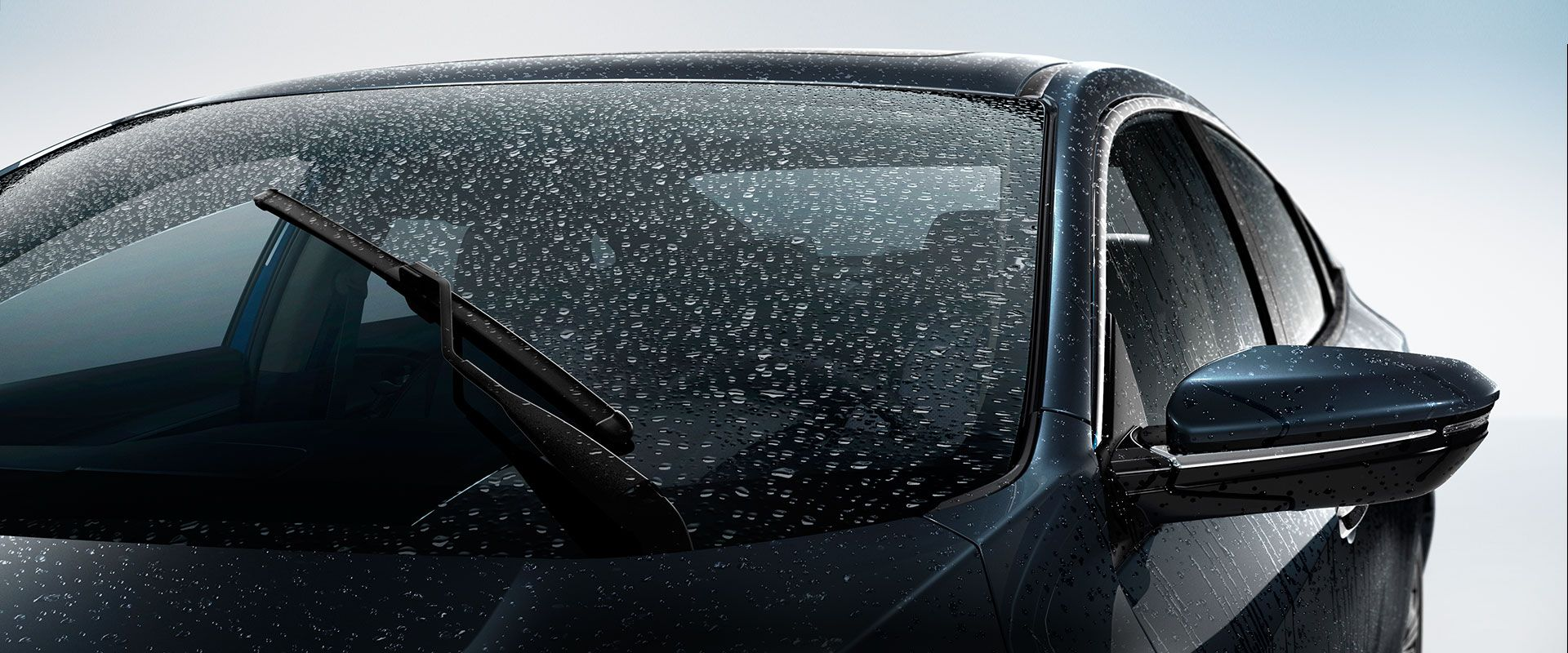 On A Wet And Gloomy Day Like Today You Turn Your Wipers On Then Off Then On Not Anymore Honda Offers Rain Sensing Wipers Set It Car Auto Glass Car Wiper