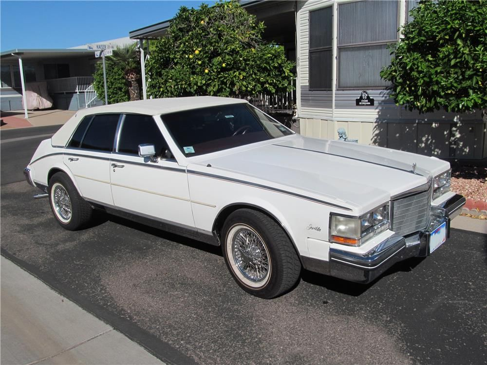 1984 CADILLAC SEVILLE 4 DOOR SEDAN - 181608 | out of town ...