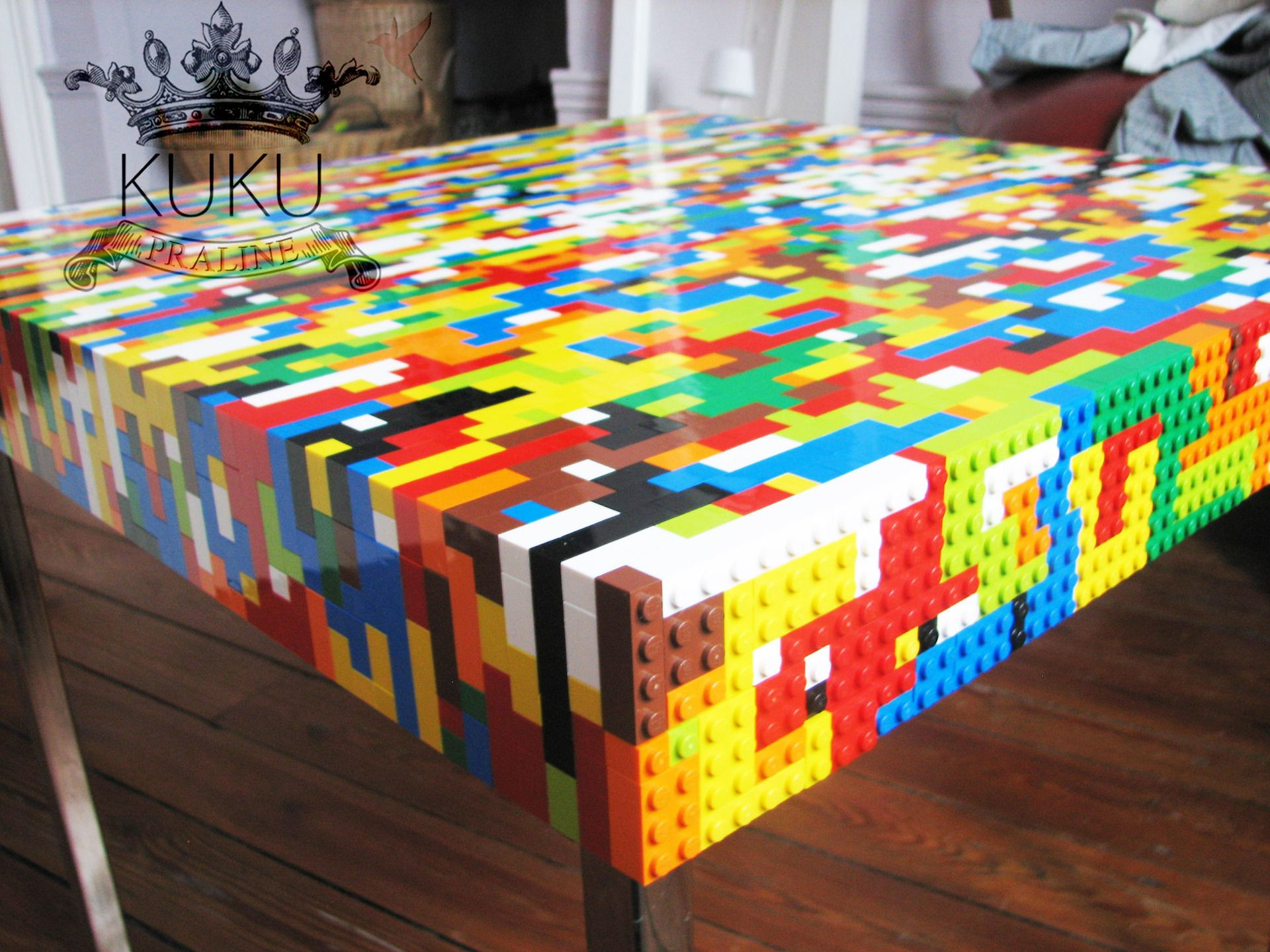 Table basse lego de salon ou d 39 appoint meubles et for Objet deco pour table de salon