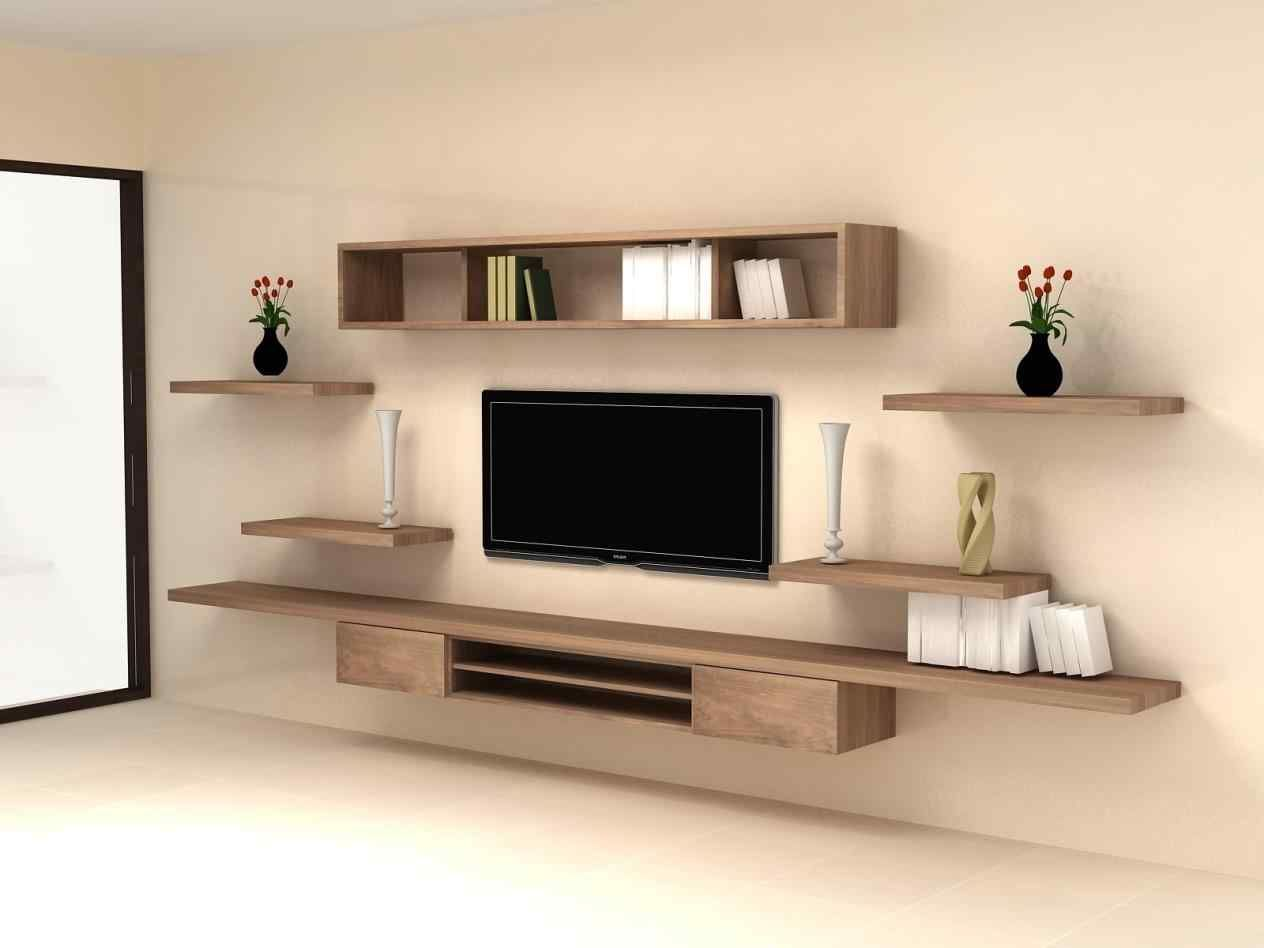 20 Stunning Tv Stands Ideas For Wall Mounted Tv Breakpr Living Room Tv Wall Tv Wall Decor Wall Mounted Tv Cabinet