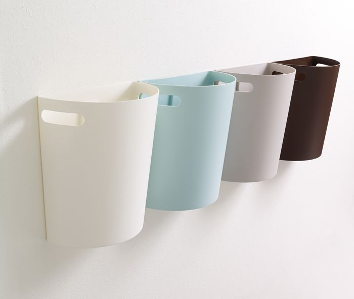 Wall Mounted Trash Bin With Handle For Easy Carrying Can Also Be Placed On The Floor Bathroom Trash Can Laundry In Bathroom Laundry Room