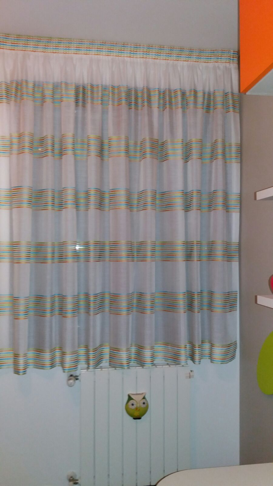 Tende arricciate su binario per cameretta bambini tende - Tende per finestre cameretta ...