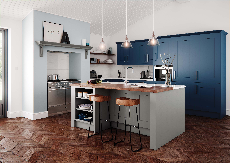 Kitchen Design Stores Kohler Sink Loving This Uform Clonmel Stone Parisian Blue Available From Tecaz Tecaztrends Kitchendesign Kitcheninspo
