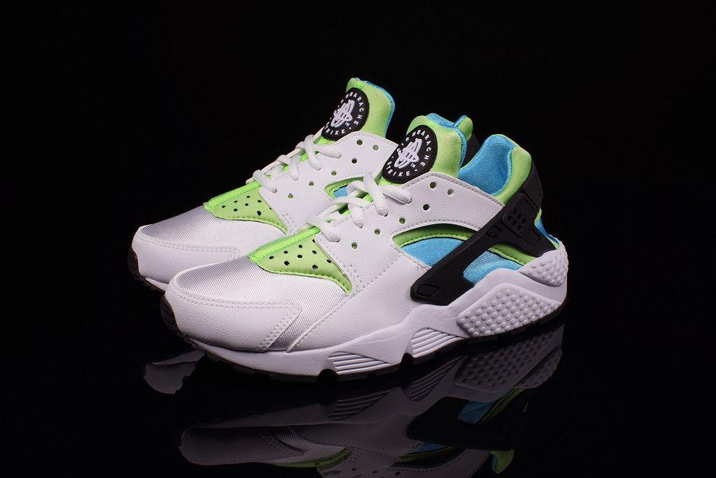 premium selection 08327 0dbe0 Nike Air Huarache Clear Water Fresh Lime