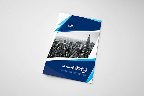 Corporate Bifold Brochure Bygraphicsauthor Templates Pinterest