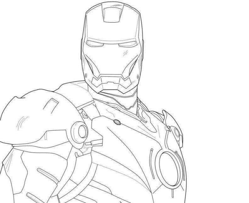 51 Iron Man Coloring Pages To Print