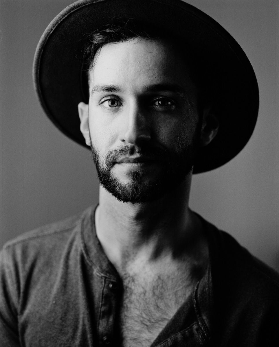 Black And White Fashion Photography NYC Creative Portrait Photographer New York Male Model