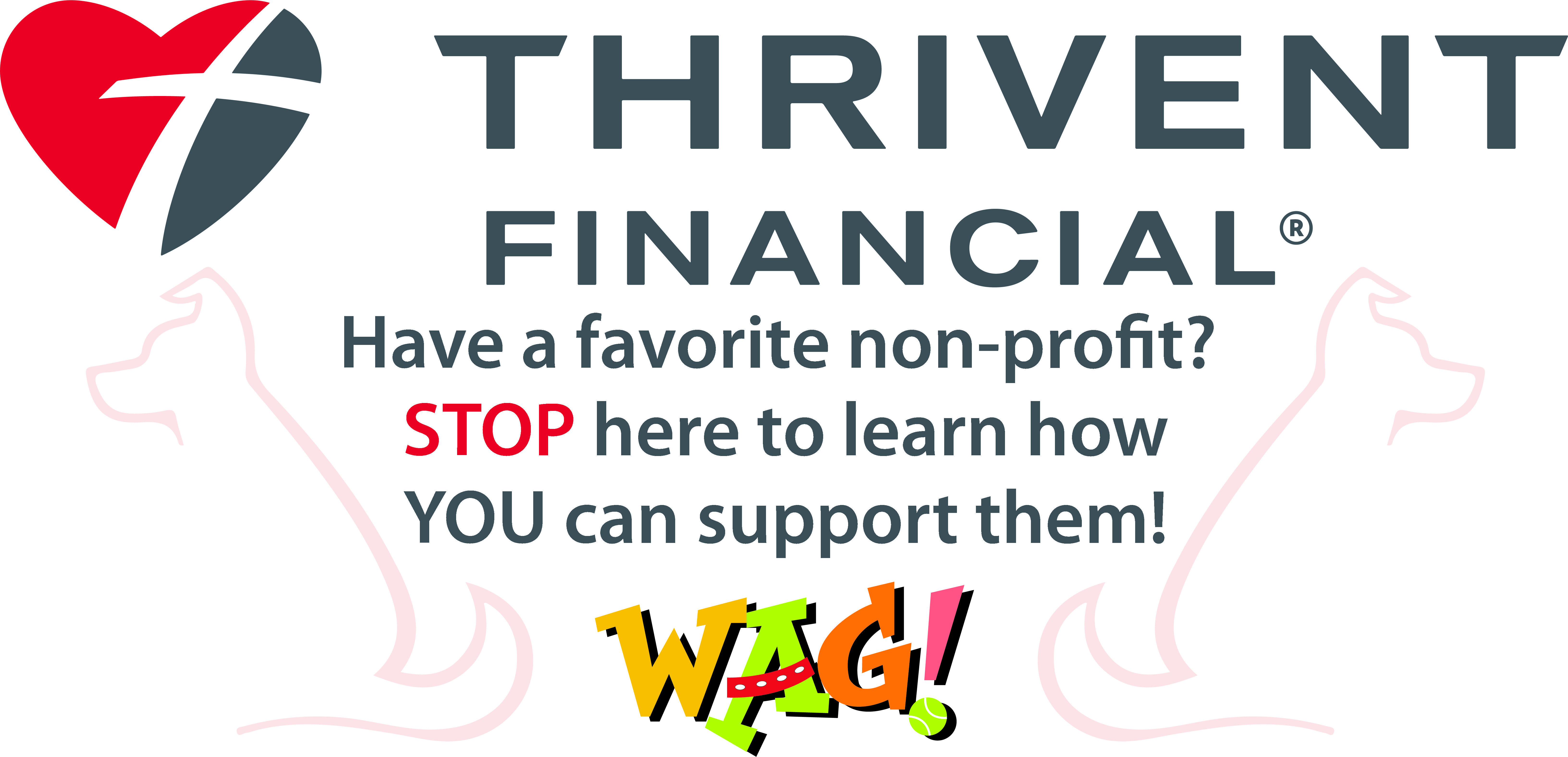 Thrivent Financial Wag Banner 4x8 Banner Designed Printed And