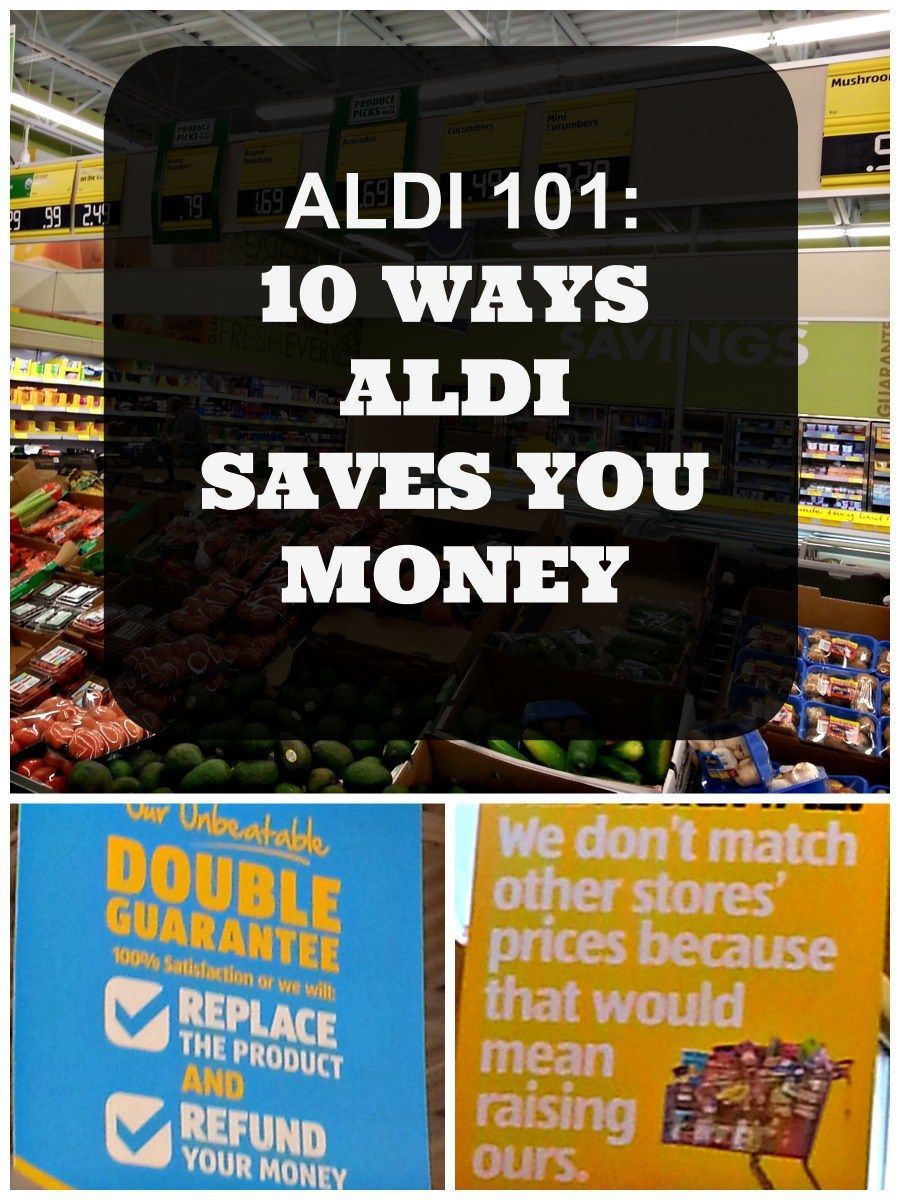 The 411 on the ALDI: How they save you money while still delivering high quality products you can feel proud to serve your family.
