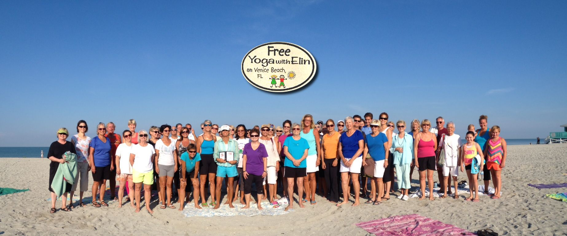 Free Yoga With Elin Balance Breathe Strengthen And At The Same Time Relax On Venice Beach Florida This Is Focus Of