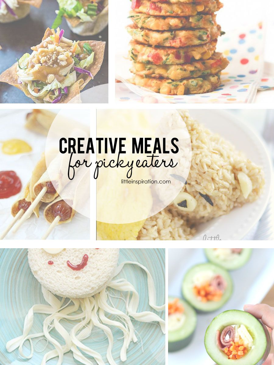 20 Creative Meal Ideas for Picky Eaters | Creative food, Food